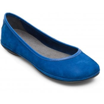 Camper Right Nina Blue (N14) K200387-014 Ladies Flats