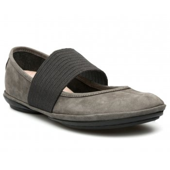 Camper Right Nina Lara Suri (Bosforo) / Pina Negro (N27) 21595-039 Ladies Flats