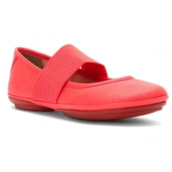 Camper Right Nina Sella Jolie / Pina Ketcup (N9) 21595-080 Ladies Flats