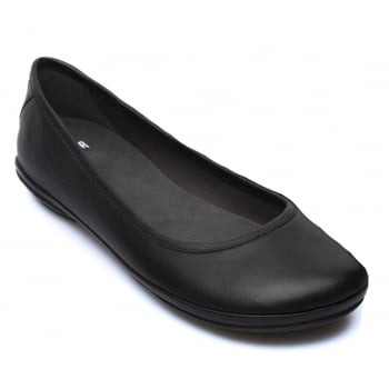 Camper Right Nina Sella Negro / Pina Negro (N4) K200387-004 Ladies Flats