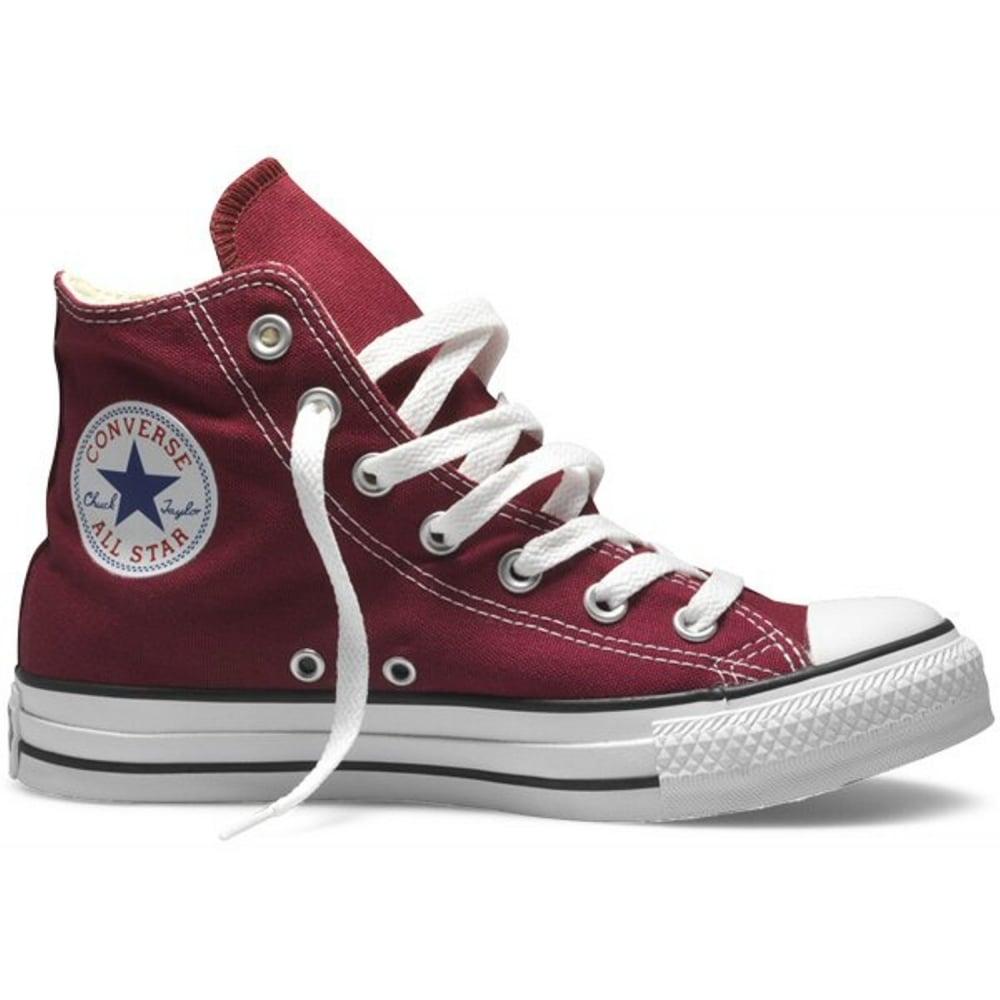 Converse All Star Hi Maroon (K2) M9613C Unisex Trainers. ‹