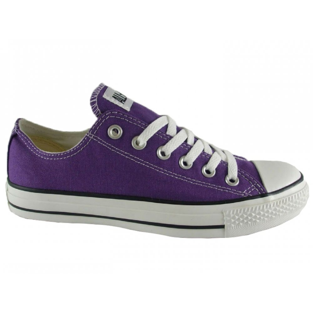 Converse Converse All Star Lo Purple (Z-7) Canvas Unisex Trainers - Converse from Pure Brands UK UK
