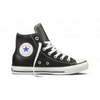 Converse CT HI Leather Black / White (SC-b4) Unisex Trainers