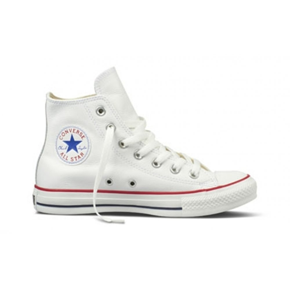 converse converse ct hi leather white sc d1 132169c unisex trainers converse from pure. Black Bedroom Furniture Sets. Home Design Ideas