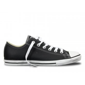 Converse Converse CT Lean Ox Leather Black / White (N3) 144649 Unisex Trainers