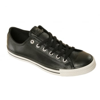 Converse CT Ox Leather Black / White (B19) 117281 Unisex Trainers