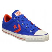 Converse Star Plyr Ox Blue / Red (F4) 147466C Unisex Trainers