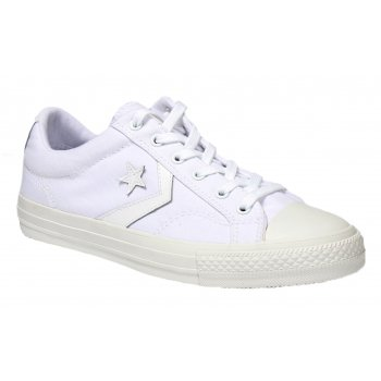 Converse Star Plyr Ox White / White (Z13) 144152C Unisex Trainers