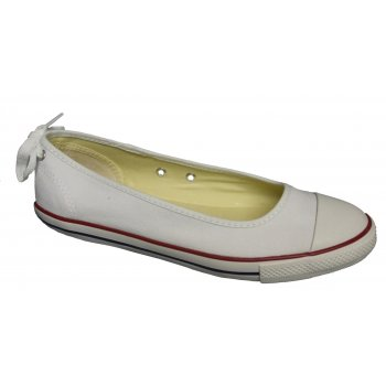Converse CT Dainty Ballerina White (E3) 537093C Ladies Slip On