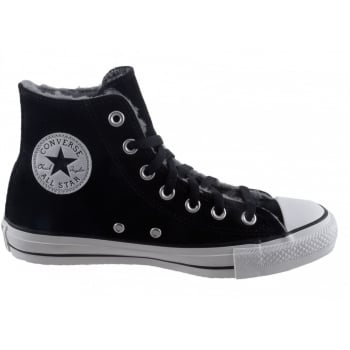 Converse CT HI Black / Distressed White (P10) 139818C Warm Unisex Trainers