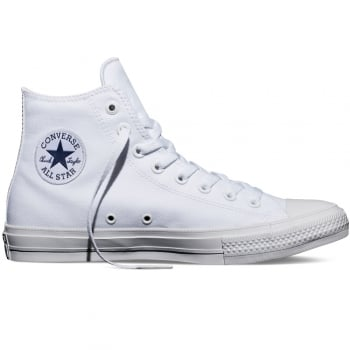 Converse CT II AS Hi Canvas White (N61) 150148C Unisex Trainers
