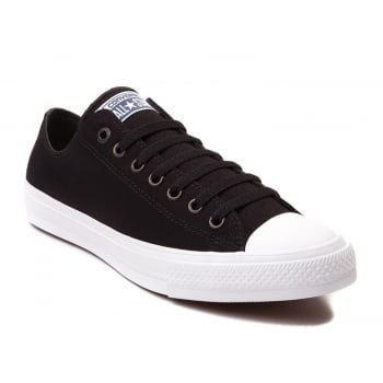 Converse CT II Canvas Ox Black / White (N13) 150149C Unisex Trainers