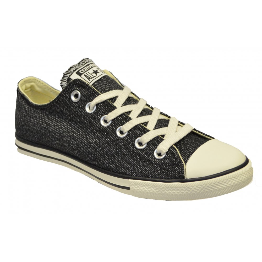 CONVERSE ALL STAR CT LEAN OX BLACKNATURAL 147047C UNISEX SNEAKERS | eBay