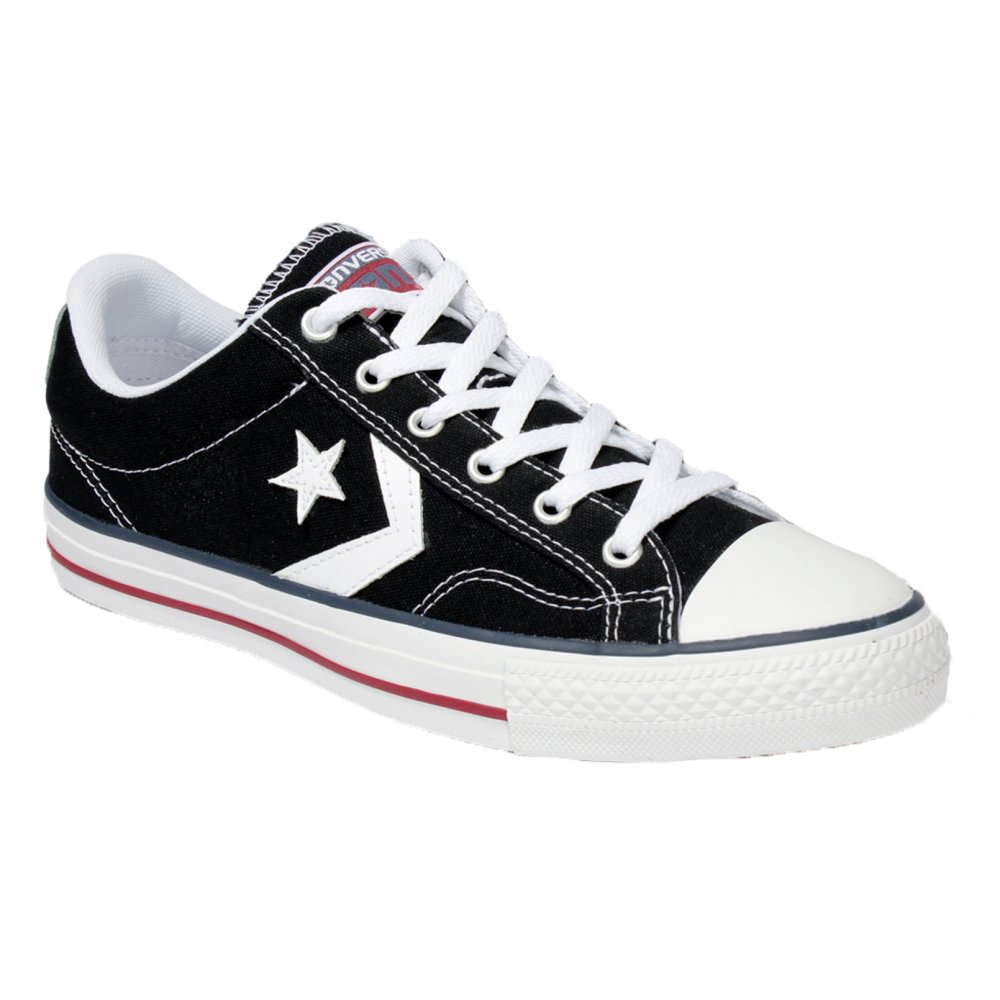 Reino Oculto Papá  Converse Converse Star Plyr Ox Black / White (Z26) 144146C Unisex Trainers  - Converse from Pure Brands UK UK