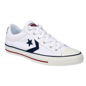 Converse Star Plyr Ox White (Z10) 144151C Unisex Trainers
