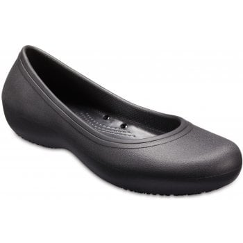 Crocs At Work Black (UX5) 205074-001 Womens Slip-on Work Shoes