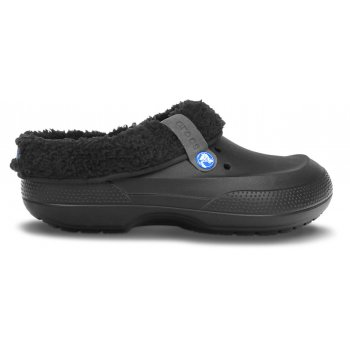 Crocs Blitzen II Black / Black (F4) Unisex Fur Lined Clogs