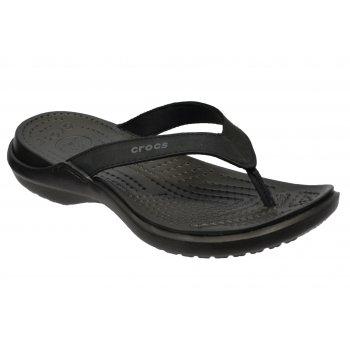 Crocs Capri IV Black / Black (UX5) 11211-060 Womens Flips / Sandal