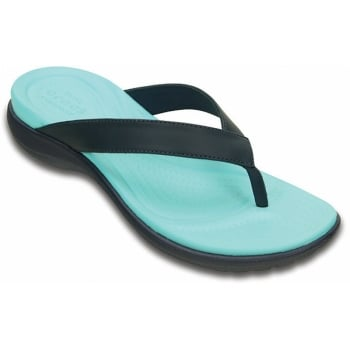 Crocs Capri V Navy / Pool (UX3) 202502-4DE Womens Flips / Sandal