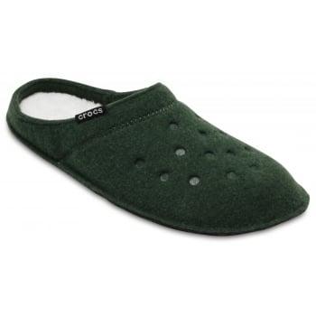 Crocs Classic Forest Green / Oatmeal (Z21) 203600-36D Unisex Slipper