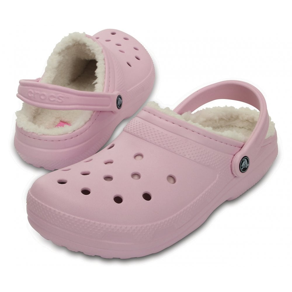 41bea3a056acaf ... Crocs Classic Lined Ballerina Pink   Oatmeal (UX6) 203591-6GQ Unisex  Shoes ...
