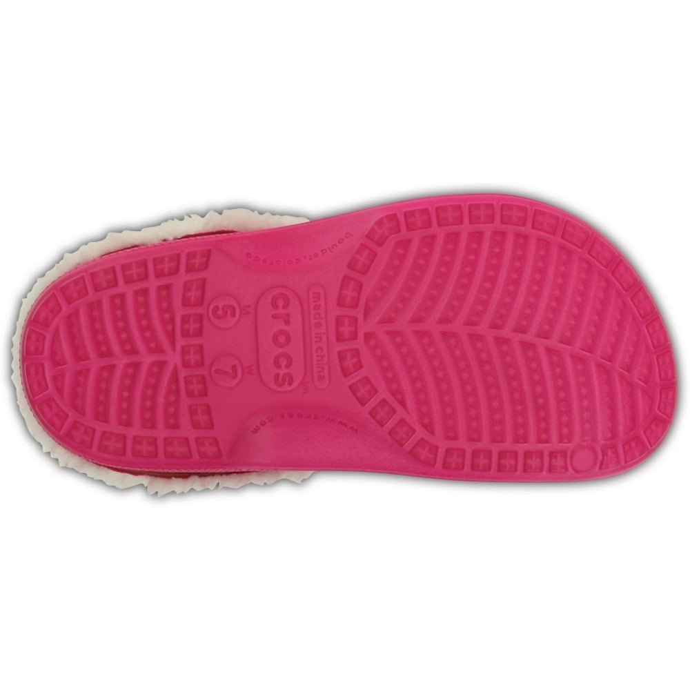 a7747479a0e9e6 ... Crocs Classic Mammoth Lined Candy Pink   Oatmeal (UX1) 203596-6ME  Unisex Shoes ...