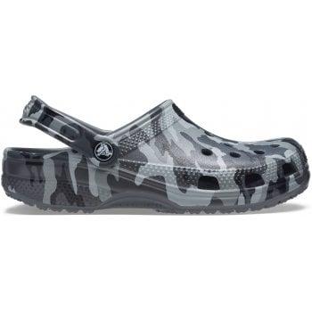 Crocs Classic Printed Camo Slate Grey / Multi (U3) 206454-0IE Unisex Clogs