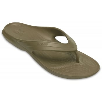 Crocs Classic Relaxed Fit khaki (UX9) 202635-260 Mens Flips
