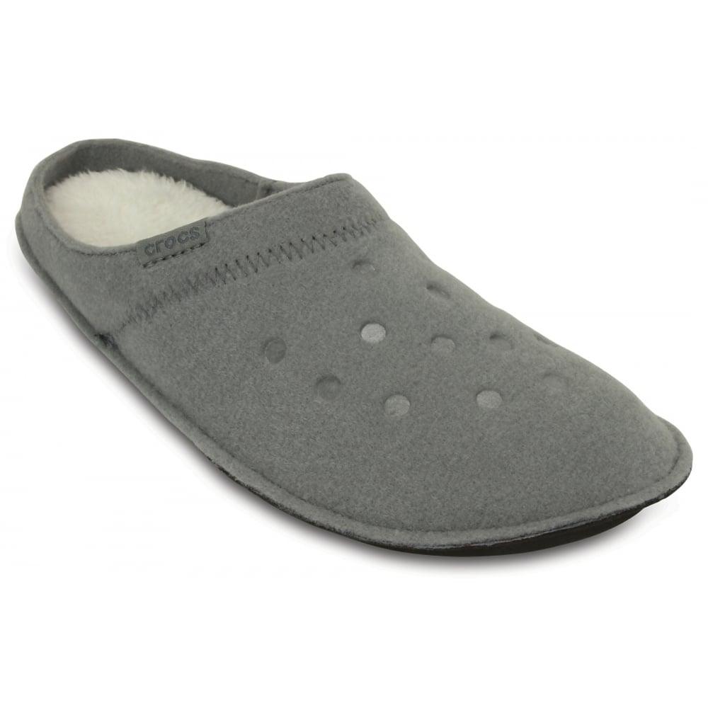0d4df286e6ac6b Crocs Crocs Classic Smoke   Oatmeal (UX3) 203600-0BX Unisex Slipper ...