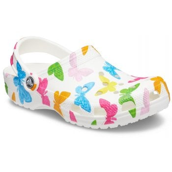 Crocs Classic Vacay Vibes Butterfly / White (UX1) 206375-99Q Unisex Clogs