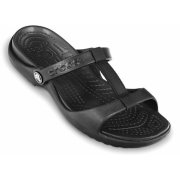 Crocs Cleo III Black / Black (UX10) 11216-060 Ladies Sandal