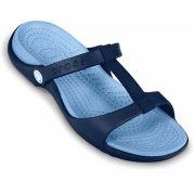 Crocs Cleo III Navy / Light Blue (U3) 11216-461 Ladies Sandal
