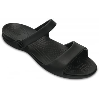 Crocs Cleo V Black / Black (Z7) 204268-060 Ladies Sandal
