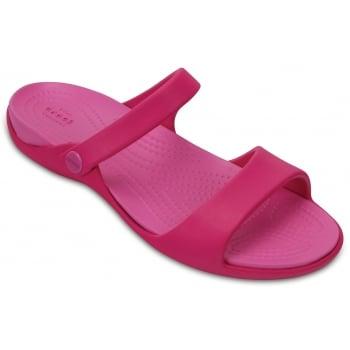 Crocs Cleo V Candy Pink / Party Pink (Z12) 204268-6LR Ladies Sandal