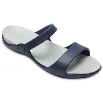 Crocs Cleo V Navy / Light Grey (Z102) 204268-41S Ladies Sandal