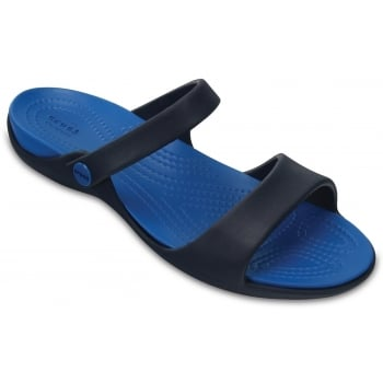 Crocs Cleo V Navy / Ultramarine (Z25) 204268-43C Ladies Sandal