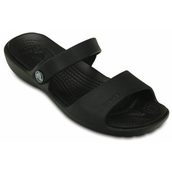 Crocs Coretta Black / Black (UX9) 200067-060 Ladies Sandal