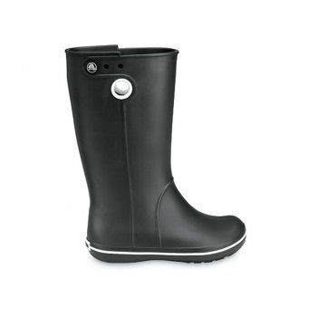 Crocs Crocband Jaunt Black (Z8) Womens Wellies / Rain Boots