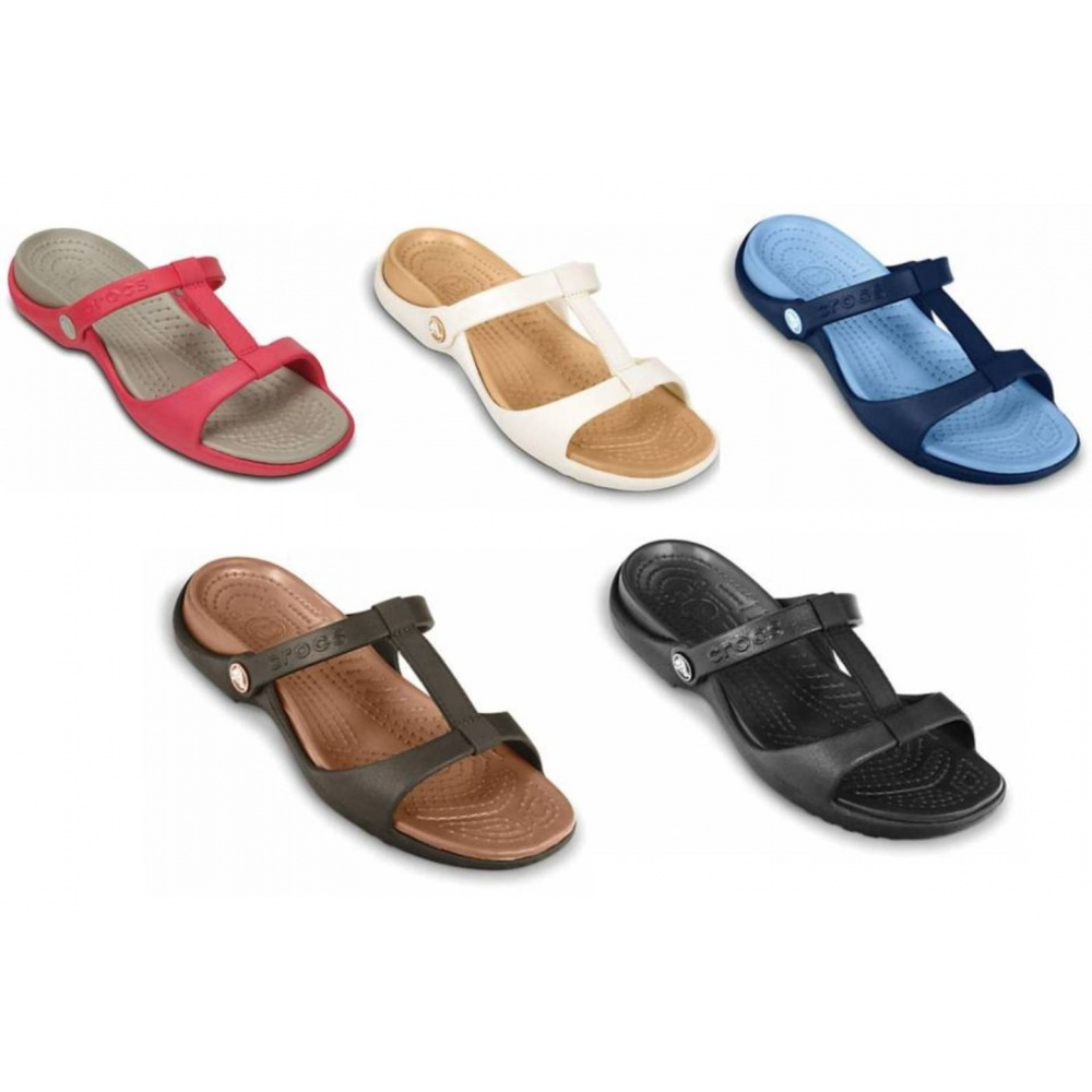 Crocs Cleo Iii Ladies Sandal All Sizes In Various Colours