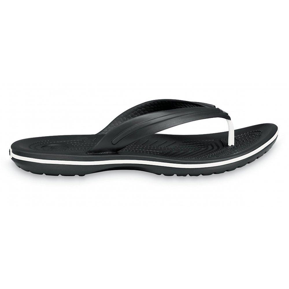 crocs crocs crocband black g30 unisex flip flop crocs. Black Bedroom Furniture Sets. Home Design Ideas