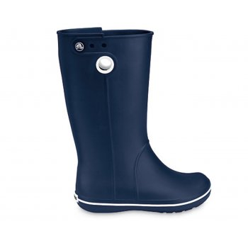 Crocs Crocband Jaunt Navy (Z26) Womens Wellie / Rain Boots