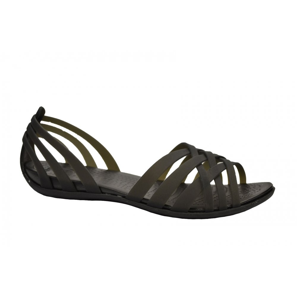 Luxury By Guess Womens Harlaa Gladiator Flat Sandals In Black  Lyst
