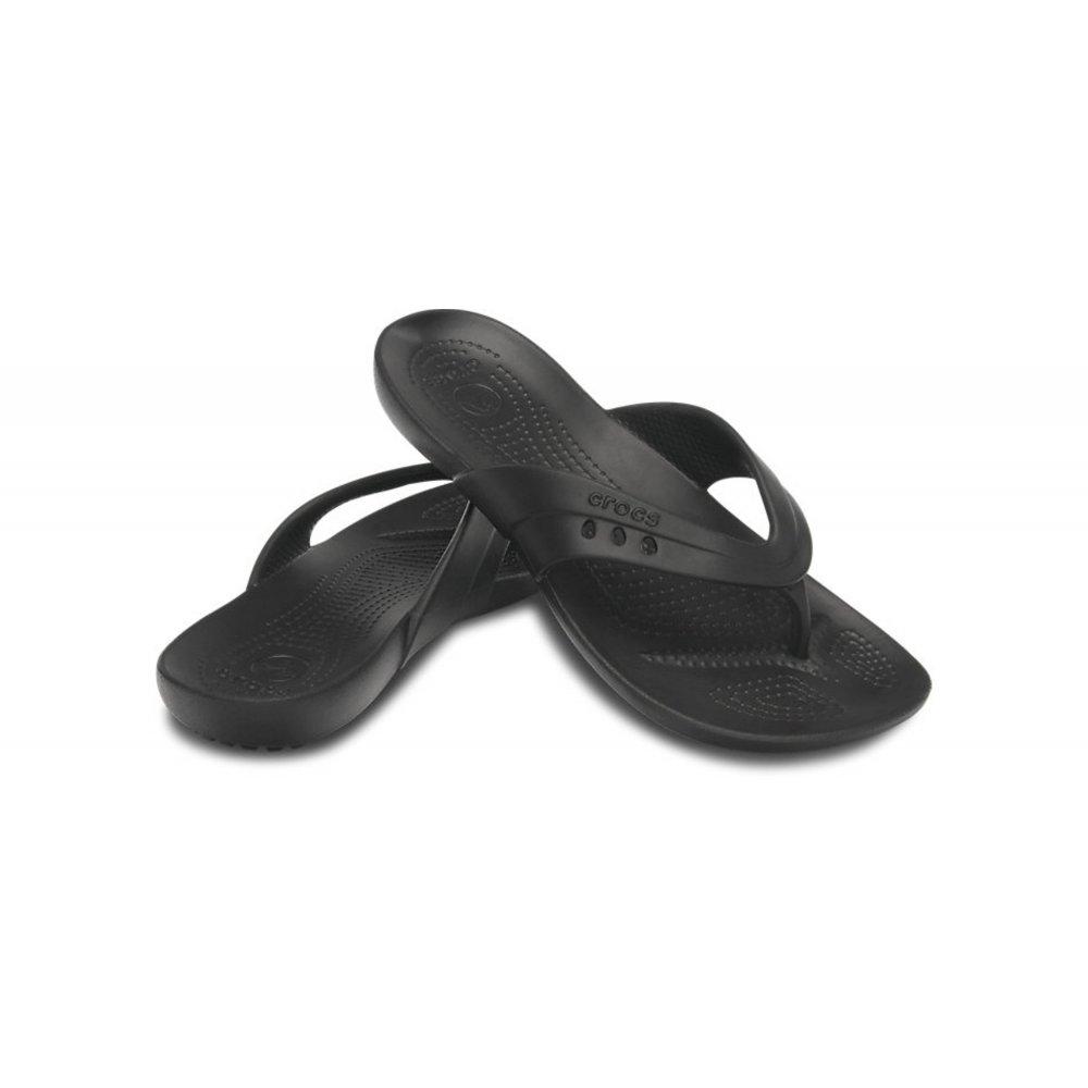 crocs crocs kadee black ux3 14177 001 womens flip flop. Black Bedroom Furniture Sets. Home Design Ideas