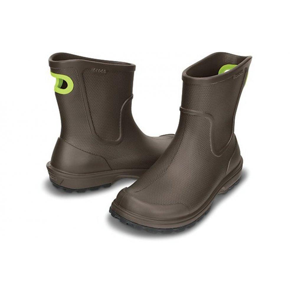 crocs crocs wellie espresso n24 mens boots crocs