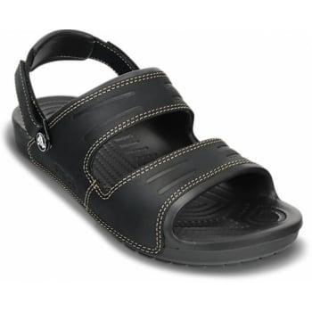 Crocs Yukon 2 Strap Black / Black (UX8) 14325-060 Mens Sandals