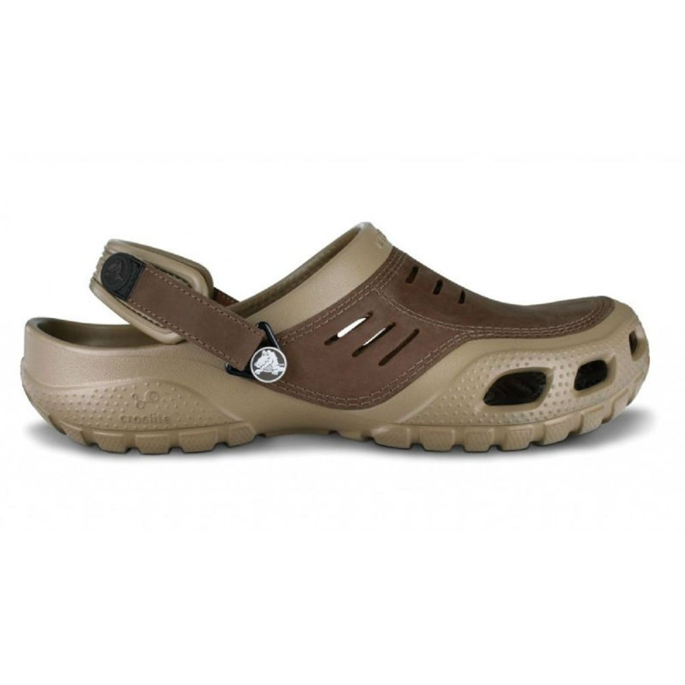 ce6b2ba615b05 Crocs Crocs Yukon Sport Khaki / Coffee (B24) Mens Clogs - Crocs from ...