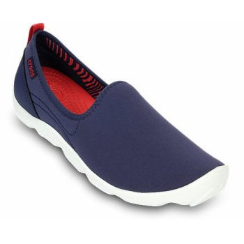 Crocs Duet Busy Day Skimmer Nautical Navy / White (Z1) 14698-4F8 Ladies Trainers