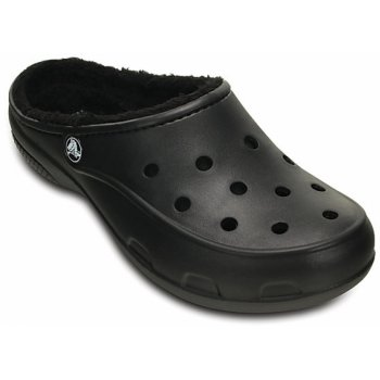 Crocs Freesail Lined Black / Black (U2) 201991-060 Ladies Clogs