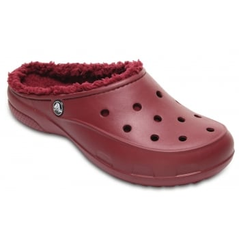 Crocs Freesail Plush lined Garnet (UX1) 203570-612 Ladies Shoes / Clogs