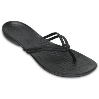 Crocs Isabella Black / Black (Z26) 204004-060 Womens Flips